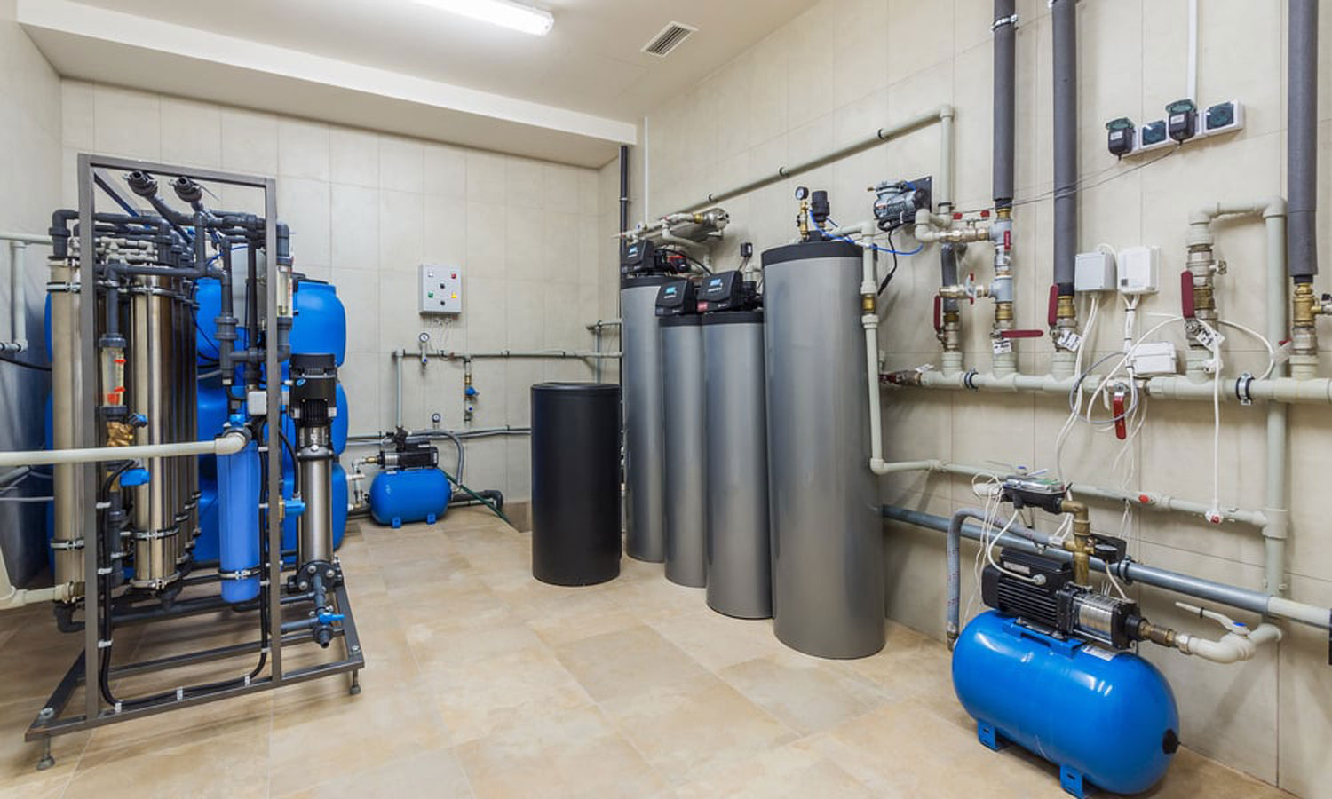How to Install a Water Softener in a Pre-plumbed House